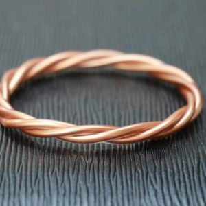 Copper Twisted Bracelet