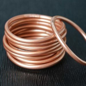Copper Buddhist Temple Bracelet