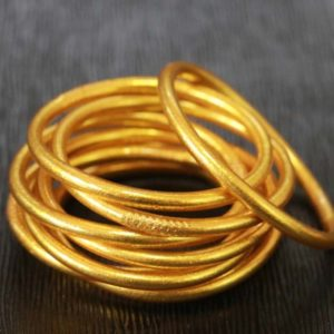 Gold Buddhist Temple Bracelet